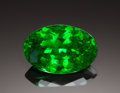 Gems:Faceted, FINE GEMSTONE: TSAVORITE - 5.64 CT.. Scorpion Mine, TsavoNational Park, Voi, Taita Taveta District, Coast Province,Keny...