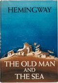 Books:Literature 1900-up, Ernest Hemingway. The Old Man and the Sea. New York: CharlesScribner's Sons, 1952. First edition, first printing wi...