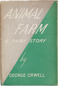 Books:Literature 1900-up, George Orwell. Animal Farm, A Fairy Story. London: Secker& Warburg, 1945. First edition, first printing. Twelvemo. ...