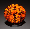 Gems:Faceted, FINE GEMSTONE: SPESSARTINE - 12.6 CT.. Afghanistan . ...