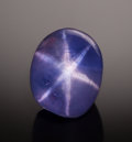 Gems:Cabochons, FINE GEMSTONE: PURPLE STAR SAPPHIRE - 10.19 CT.. Sri Lanka....