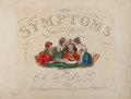 Books:Art & Architecture, Henry Aiken. Symptoms of Being Amused. McLean, 1822. Firstedition. 42 hand-colored plates....