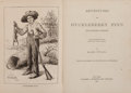 Books:Literature Pre-1900, Mark Twain. Adventures of Huckleberry Finn (Tom Sawyer'sComrade). New York: Charles L. Webster and Company, 1885. F...