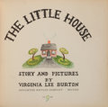 Books:Children's Books, Virginia Lee Burton, author and illustrator. The LittleHouse. Boston: Houghton Mifflin Company, 1942. First edi...