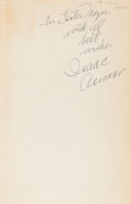 Books:Science Fiction & Fantasy, Isaac Asimov. Pebble in the Sky. Garden City: Doubleday& Company, 1950. First edition. Inscribed and signed b...