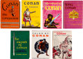Books:Science Fiction & Fantasy, Robert E. Howard, L. Sprague De Camp, and Bjorn Nyberg. The GnomePress First Editions of Conan, including: Conan th... (Total: 7Items)