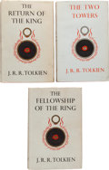 Books:Science Fiction & Fantasy, J. R. R. Tolkien. The Lord of the Rings, including: TheFellowship of the Ring. London: George Allen... (Total: 3Items)