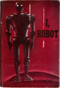 Books:Science Fiction & Fantasy, Isaac Asimov. I, Robot. New York: Gnome Press, Inc., [1950].First edition. Wonderfully inscribed and signed i...