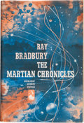 Books:Science Fiction & Fantasy, Ray Bradbury. The Martian Chronicles. Garden City: Doubleday& Company, 1950. First edition. Signed and dated ...