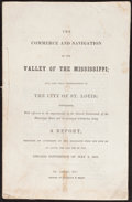 Books:Americana & American History, [Mississippi Valley]. [Thomas Allen]. The Commerce andNavigation of the Valley of the Mississippi... St. Louis,...