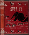 Books:Children's Books, Rudyard Kipling. Just So Stories For Little Children.London, 1902. First edition of this famous collection of poems...
