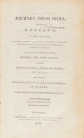 Books:Travels & Voyages, [Middle East, Armenia and Asia]. John Jackson. Journey from India, Towards England, in the Year 1797. London, 17...