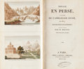 Books:Color-Plate Books, [Color-Plate Books]. Maurice de Kotzebue. Voyage en Perse...Paris, 1819. First edition in French. With four hand-co...