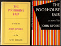 Books:Literature 1900-up, John Updike. The Poorhouse Fair. Two Signed or InscribedCopies, Including the American and British First Editions...(Total: 2 Items)