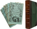 Books:Literature Pre-1900, Charles Dickens. The Mystery of Edwin Drood. London, 1870.First edition, in the original six monthly parts, as i...
