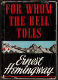 Books:Literature 1900-up, Ernest Hemingway. For Whom the Bell Tolls. Scribners, 1940.First edition, first printing in first state dust jacket...