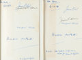 Books:Science Fiction & Fantasy, Brian Aldiss and James Blish. Group of Two First British Edition Books, Both Signed by Aldiss, Blish, and Their Wives. Fro... (Total: 2 Items)