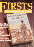 Books:Books about Books, [Bibliography]. Collection of Firsts Magazine. Pasadena: TheLucerne Group, 1991-2013. A large collection of this ex... (Total:55 Items)