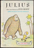 Books:Children's Books, Syd Hoff. Julius. New York: Harper & Row, [1959, though later]. Later edition. Inscribed by Hoff with an original ...