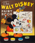 Books:Children's Books, [Walt Disney Studios]. A Walt Disney Paint Book. Racine,1937. First perfect-bound edition of this title, with more ...