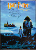 Books:Children's Books, J. K. Rowling. Group of Two Signed Harry Potter and thePhilosopher's Stone Items. Very good....