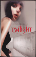 Books:Horror & Supernatural, Stephenie Meyer. Twilight. Atom, 2006. First UK edition.Signed by Meyer....