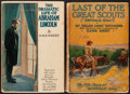 Books:Fiction, [Zane Grey]. Group of Two Books from Zane Grey's Personal Library.Both volumes have Grey's embossed name on the front free ...(Total: 2 Items)