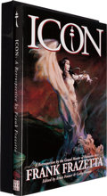 Books:Art & Architecture, Frank Frazetta [subject]. Arnie Fenner & Cathy Fenner [editors]. Icon. Underwood Books, 1998. Limited to 52 letter...