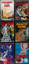"Books:Science Fiction & Fantasy, [Lensman Series]. Edward E. ""Doc"" Smith. Group of Six First TradeEdition Books in the Lensman Series Published by... (Total:6 Items)"