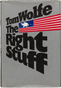 Books:Americana & American History, Tom Wolfe. The Right Stuff. New York: Farrar Straus Giroux,[1979]. First edition, first printing. Signed by T...