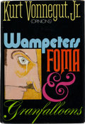 Books:Literature 1900-up, Kurt Vonnegut Jr. Wampeters Foma & Granfalloons(Opinions). Delacorte, [1974]. First edition, first printing....
