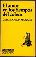 Books:Literature 1900-up, Gabriel Garcia Marquez. El amor en los tiempos del colera.Mexico, [1985]. Later edition. Inscribed and signed...