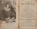 Books:Religion & Theology, James Ussher. A Body of Divinitie, or The Summe and Substance of Christian Religion. London, 1658. Early leather....