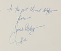 Books:Literature 1900-up, James Dickey. Group of Two Signed Poetry Books with Early Inscriptions. Wesleyan University Press, [1967].... (Total: 2 Items)