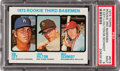 Baseball Cards:Singles (1970-Now), 1973 Topps Mike Schmidt/Ron Cey Rookie #615 PSA Mint 9....