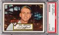 Baseball Cards:Singles (1950-1959), 1952 Topps Hal Jeffcoat #341 PSA Mint 9 - Pop Three, None Higher!...