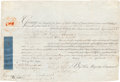 Autographs:Non-American, George III, King of Great Britain, Document Signed,...