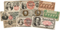 Miscellaneous:Ephemera, Group of Ten Nineteenth Century American Currency Notes... (Total:10 Items)