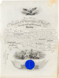 Autographs:U.S. Presidents, William McKinley Naval Appointment Signed....