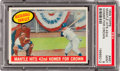 Baseball Cards:Singles (1950-1959), 1959 Topps Mickey Mantle Hits 42nd HR #461 PSA Mint 9 - HighestGrade Available! ...