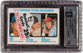 Baseball Cards:Unopened Packs/Display Boxes, 1973 Topps Cello Pack GAI Perfect 10 With Mike Schmidt Rookie onFront....
