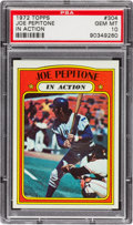 Baseball Cards:Singles (1970-Now), 1972 Topps Joe Pepitone IA #304 PSA Gem Mint 10 - Pop Three! ...