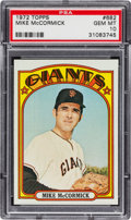 Baseball Cards:Singles (1970-Now), 1972 Topps Mike McCormick #682 PSA Gem Mint 10 - Pop One-of-One!...