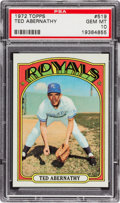 Baseball Cards:Singles (1970-Now), 1972 Topps Ted Abernathy #519 PSA Gem Mint 10 - Pop One-of-One! ...