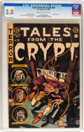 Golden Age (1938-1955):Horror, Tales From the Crypt #44 (EC, 1954) CGC GD/VG 3.0 Cream tooff-white pages....