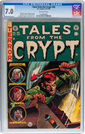Golden Age (1938-1955):Horror, Tales From the Crypt #38 (EC, 1953) CGC FN/VF 7.0 Off-whitepages....