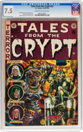Golden Age (1938-1955):Horror, Tales From the Crypt #33 (EC, 1952) CGC VF- 7.5 Cream to off-whitepages....