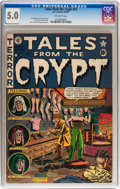 Golden Age (1938-1955):Horror, Tales From the Crypt #25 (EC, 1951) CGC VG/FN 5.0 Off-whitepages....