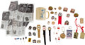 Baseball Collectibles:Others, Stan Musial Assortment of Pins, Presentational Wristwatches, Etc....