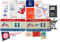 Baseball Collectibles:Others, Stan Musial Signed Presidential Inauguration License Plates &More....